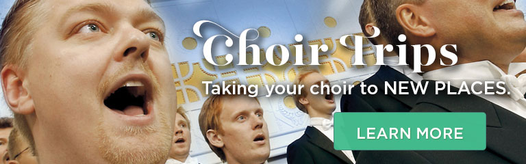 Learn more about our choir trips!