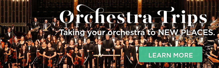 Learn more about our orchestra trips!