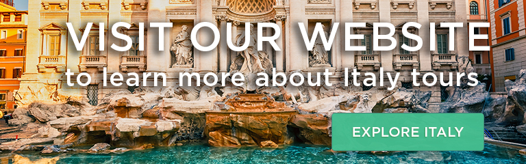 Visit our website to learn more about Italy tours!