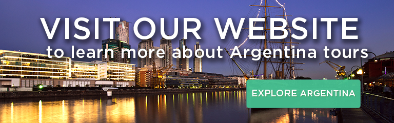 Visit our website to learn more about Argentina tours!