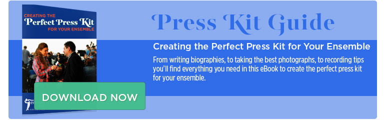 Download our free ebook, 'Creating the Perfect Press Kit'!