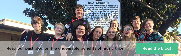 Read our blog on the undeniable benefits of music trips!