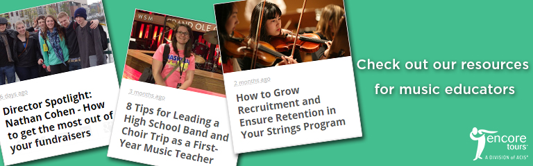 Check out our resources for music educators!