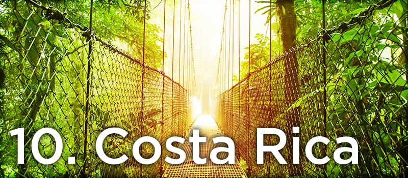 10. Costa Rica