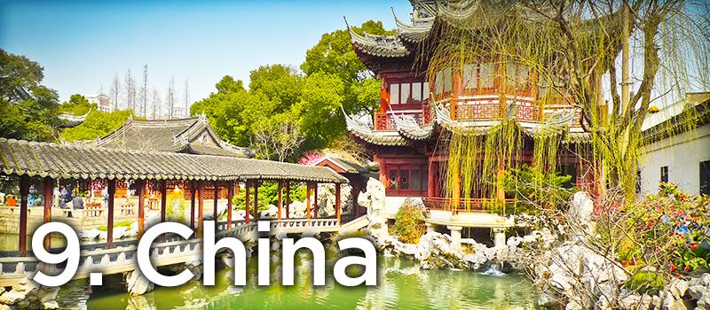 9. China