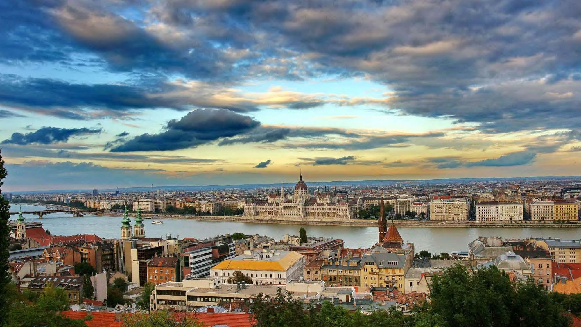 Budapest, Hungary skyline