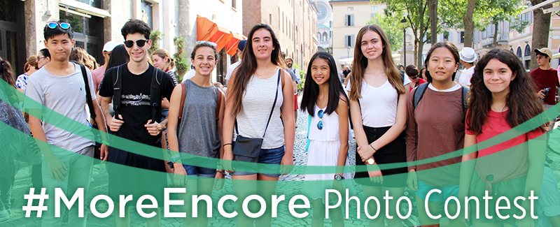#MoreEncore Photo Contest