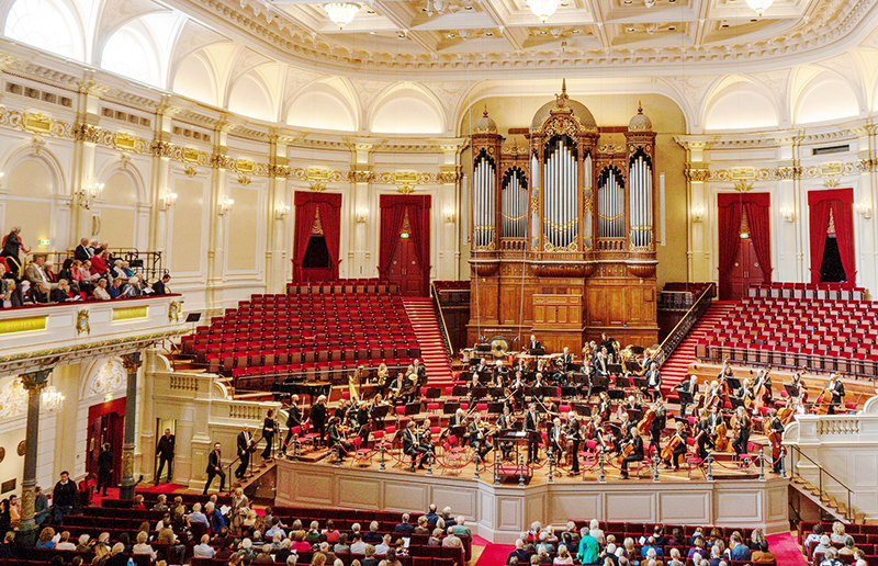 Concertgebouw in Amsterdam, Netherlands | Photo credit: Alexander Svensson (asvensson) on Flickr