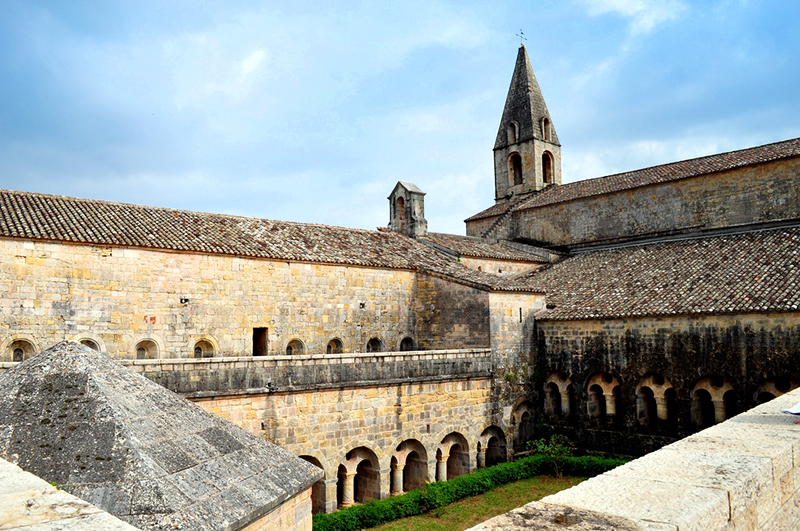 Le Thoronet Abbey in Provence, France   Photo Credit: Frédérique Voisin-Demery (vialbost) on Flickr