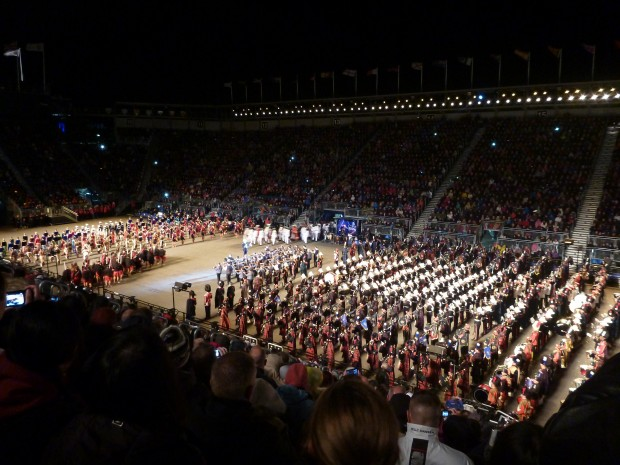 Edinburgh Royal Tattoo Marching Band Performance