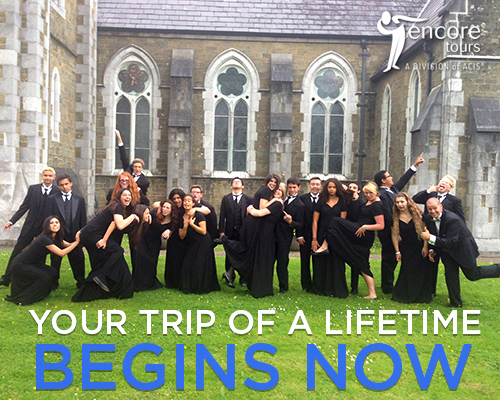 "Caption: ""Your trip of a lifetime begins now!"" 