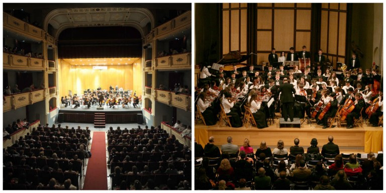 Examples of theatres and concert halls in Spain