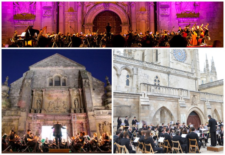 Examples of outdoor venues in Spain