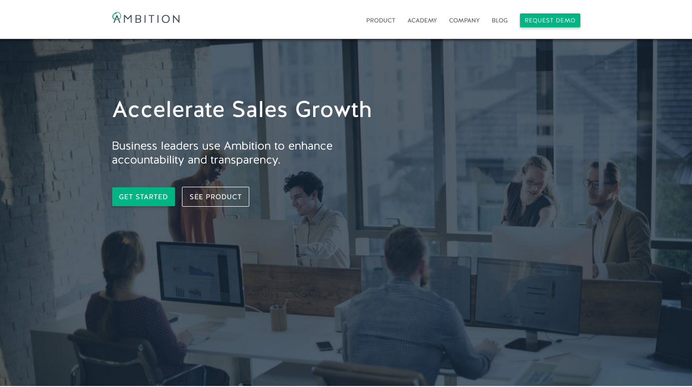 Ambition Sales Growth