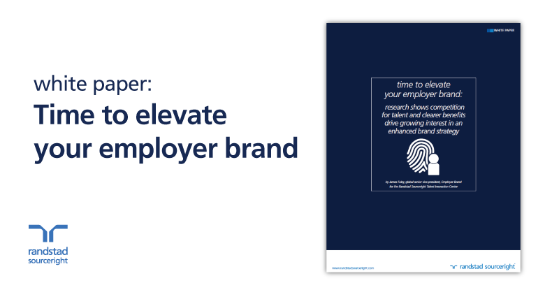 white paper: time to elevate your employer brand