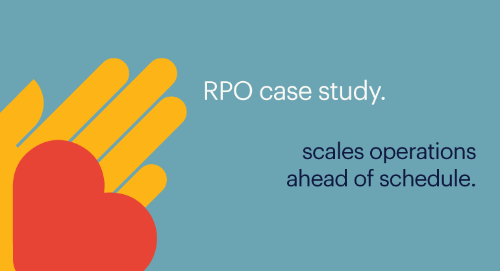 RPO case study: global insurance leader scales operations ahead of schedule
