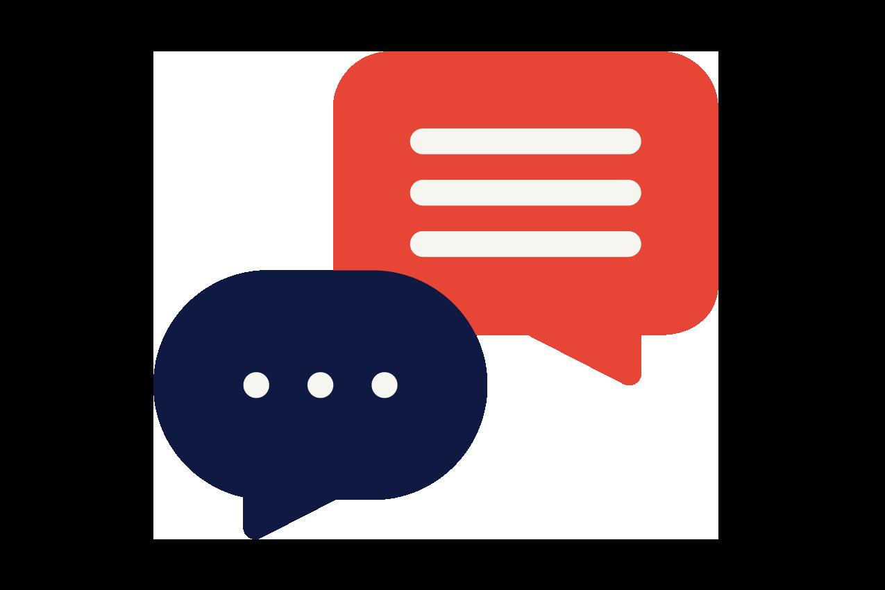 Mit dem Anbieter im Gespräch bleiben