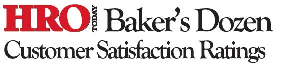 2019 Baker's Dozen Customer Satisfaction Ratings: Total Workforce Solutions.