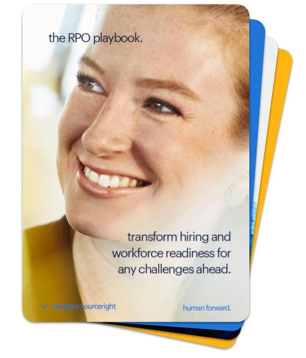 The RPO Playbook - Randstad Sourceright