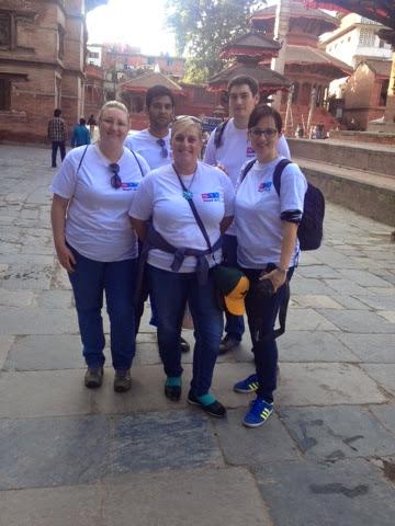 Kimberlee Hodges journey to Nepal Randstad Sourceright VSO