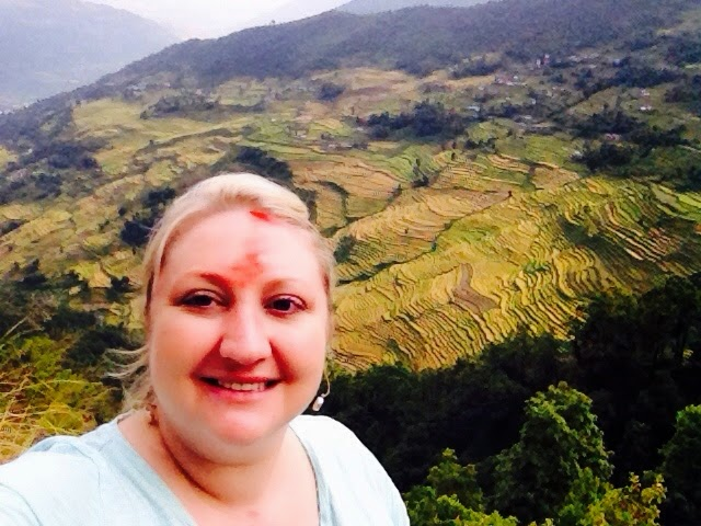 Kimberlee Hodges in Nepal with VSO Randstad with Heart