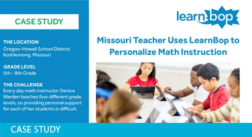 Personalizing Math Instruction with LearnBop