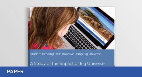 Student Reading Skills Improve Using Big Universe