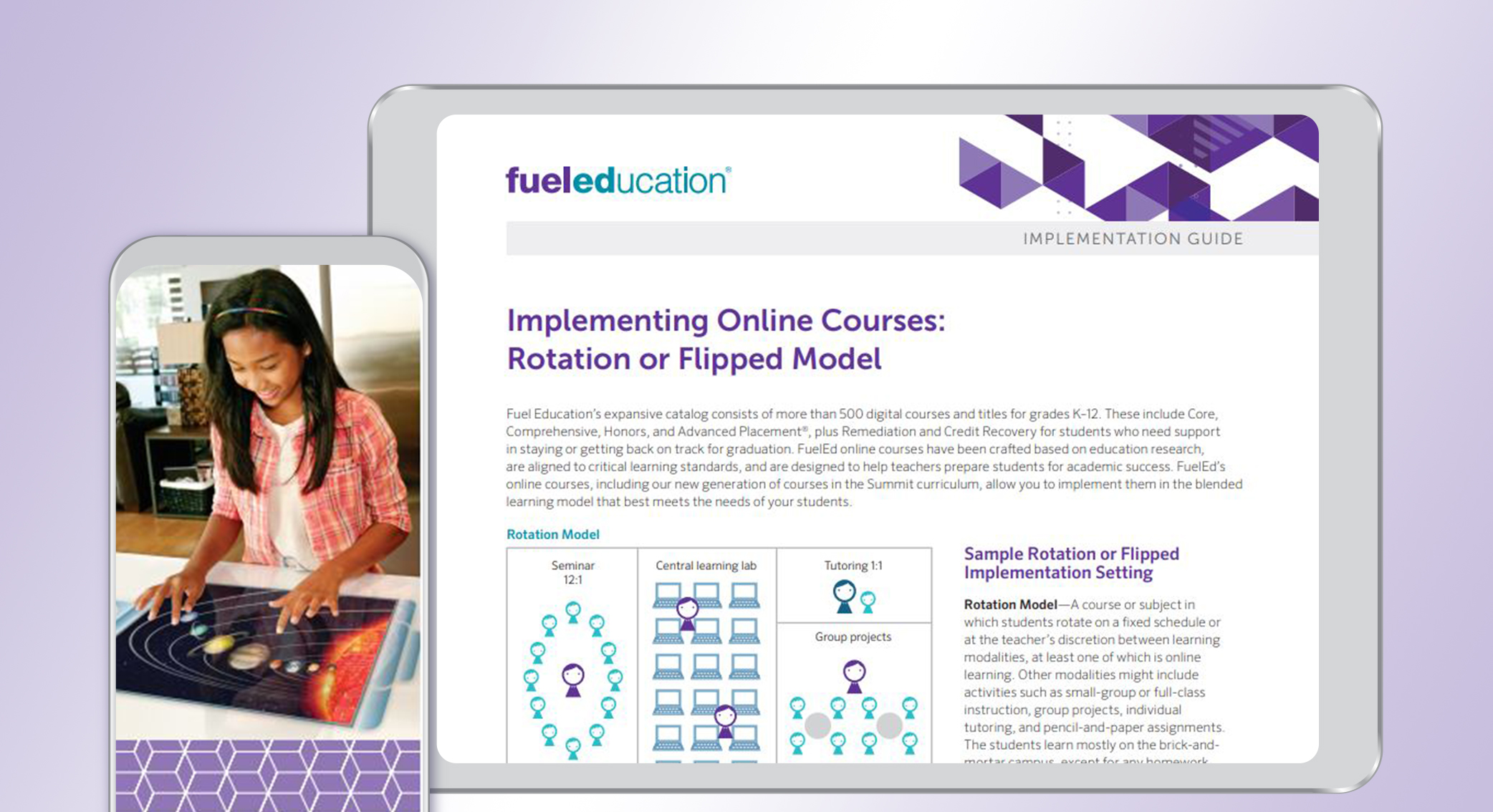 Rotation or Flipped Model Program Implementation Guide