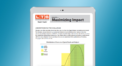 Maximizing Impact through Differentiated Instruction