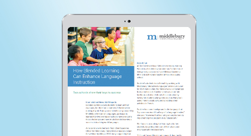 How Blended Learning Can Enhance Language Instruction