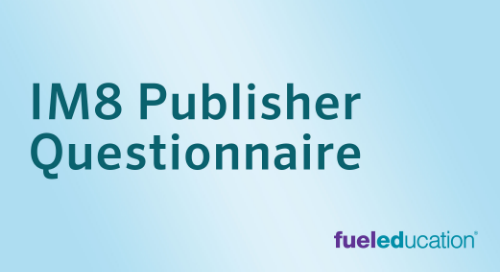IM 8 Publisher Questionnaire