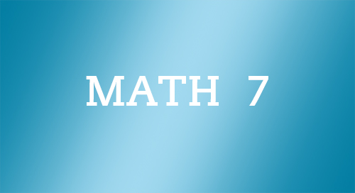 South Carolina Standard Alignments for Math Grade 7