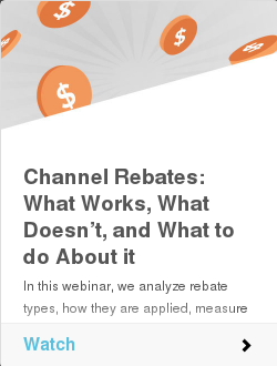 Channel Rebates: What Works, What Doesn't, and What to do About it