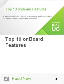 Top 10 onBoard Features