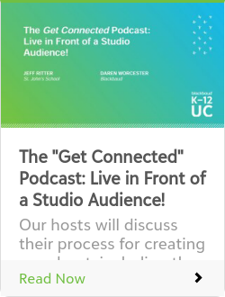 "The ""Get Connected"" Podcast: Live in Front of a Studio Audience!"