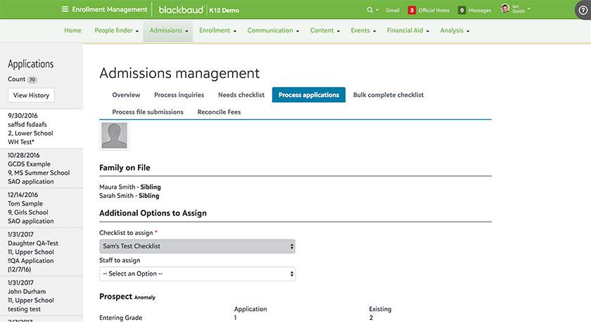 SAO integration application processing