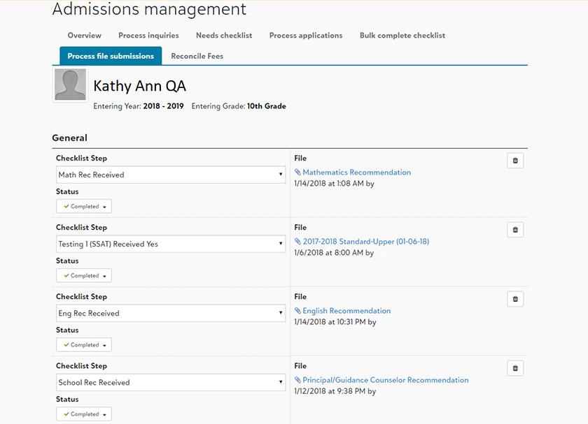 SAO integration file management