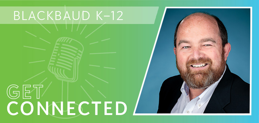 A Get Connected podcast banner graphic featuring Travis Warren.