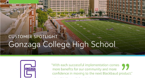 Gonzaga College High School Customer Story