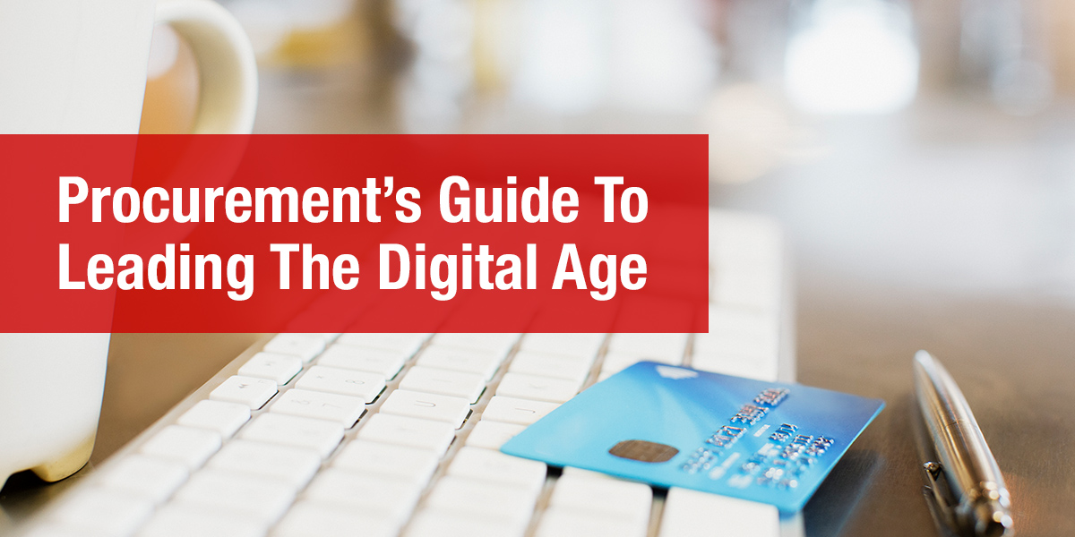 Procurement's Guide to Leading in the Digital Age