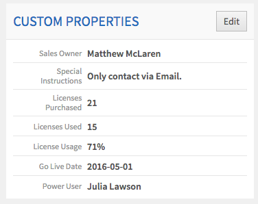 Custom Properties