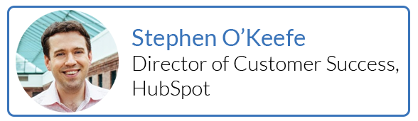 Stephen O'Keefe, Director of Customer Success, Hubspot
