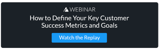 Webinar Replay: Define Your CS Metrics and Goals