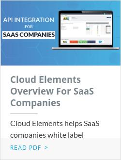 Cloud Elements Overview