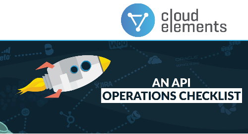 An API Operations Checklist