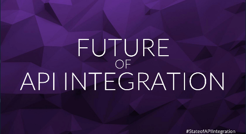 The State of API Integration 2018 | Webinar Slides