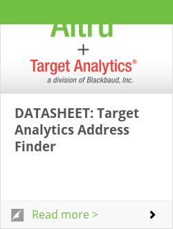 DATASHEET: Target Analytics Address Finder