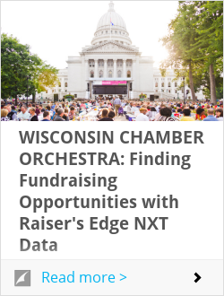 WISCONSIN CHAMBER ORCHESTRA: Finding Fundraising Opportunities with Raiser's Edge NXT Data