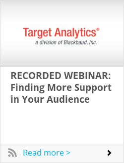 RECORDED WEBINAR: Finding More Support in Your Audience