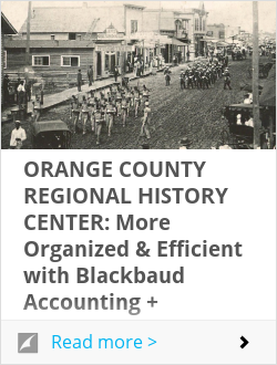 Historical Society of Central Florida: More Organized & Efficient with Blackbaud Accounting + Blackbaud Altru